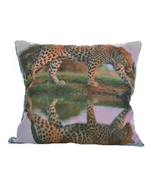 Twisha Nx Cushion Cheetah Print - Green