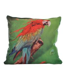 Twisha Nx Cushion Parrot Print - Green