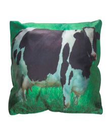 Twisha Nx Cushion Cow Print - Green Black
