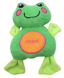 Sassy- Cuddly Bath Pal Frog