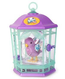 Little Live Pets S8 Bird With Cage - Purple