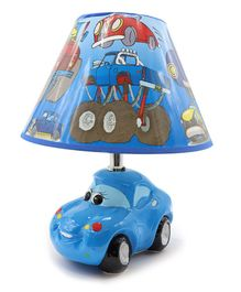 Quirky Monkey Car Lamp - Blue