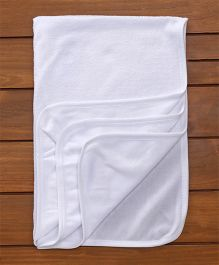 Child World Solid Colour Towel - White
