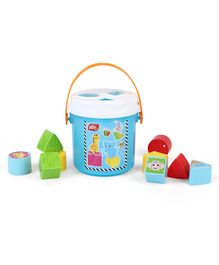 ABC Colorful Sorting Bucket - Multi Color