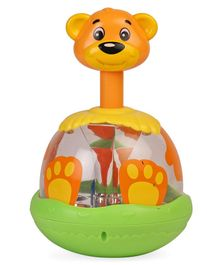 ABC Funny Bear Spinning Top - Green