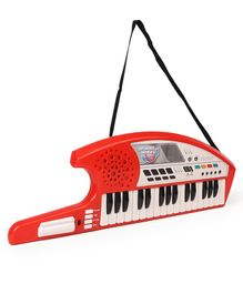 Simba Keytar Keyboard Instrument - Red