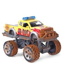Dickie Eat My Dust Monster Truck - Brown & Yellow