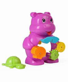 ABC Hippo Bath Toy - Pink