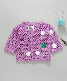8fddc53b12b9 amazing price 0c69c 4e300 rich handknits half sleeves sweater with ...