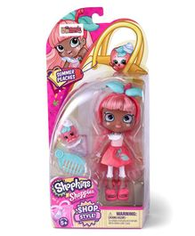 Shopkins Shoppies Summer Peach Doll Single Pack - Pink & Blue
