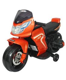 HLX NMC Super Racer Battery Operated Ride On Bike - Orange