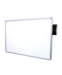 Deli Magnetic Board With Duster - White