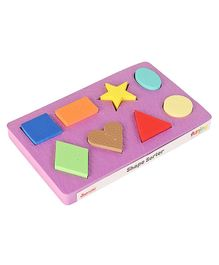 Funjoy Geometric Shape Sorter - Multi Colour