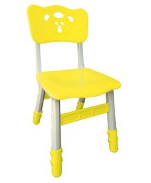 Sunbaby Magic Chair With Height Adjustment Bear Design - Yellow