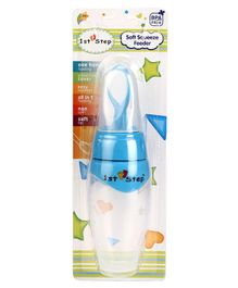 1st Step Soft Squeeze Feeder - Blue