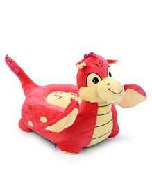 Dimpy Stuff Dinosaur Shape Sofa (Color May Vary)