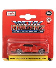 Bburago Dodge Challenger Die Cast Toy Car - Red