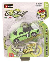 Bburago Go Gears Car - Black and Green