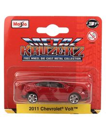 Bburago Chevrolet Volt Die Cast Toy Car - Red