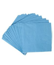 Party Anthem Paper Napkin Pack of 40 - Blue