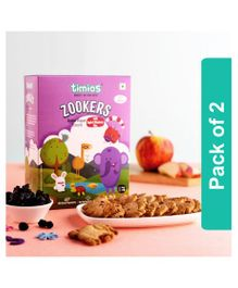 Timios Apple & Blueberry Zookers - 150 gm