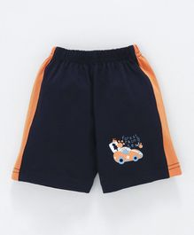 Tango Shorts Forest Racing Team Print - Dark Navy