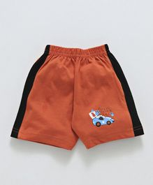 Tango Shorts Forest Racing Team Print - Orange