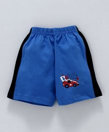 Tango Shorts Forest Racing Team Print - Blue