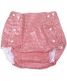 Farlin Waterproof Diaper Pants Red Medium