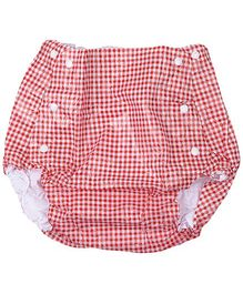 Farlin Waterproof Diaper Pants Red Large