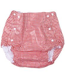 Farlin Waterproof Diaper Pants Red Extra Large
