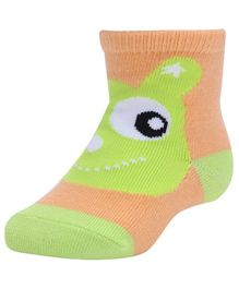 Farlin - Ankle Socks Fish Print Green