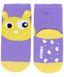 Farlin - Ankle Socks Printed Purple