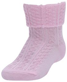 Farlin - Ankle Socks Knitted Pink