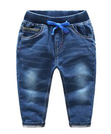 Pre Order - Awabox Full Length Solid Jeans - Blue