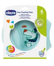 Chicco Easy Feeding Bowl - Blue