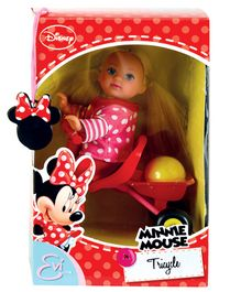 Disney Evi Love Minnie Mouse Tricycle Doll - 12 cm