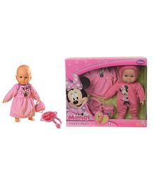 Simba Minnie Mouse Sweet Baby Doll - 30 cm
