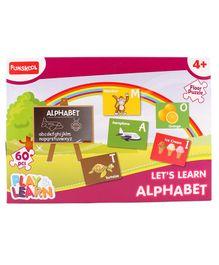 Funskool - Set Of 60 Alphabets Puzzles