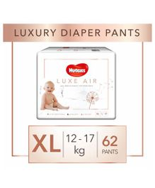 Huggies Luxe Air Extra Large Size  Pant Style Diapers - 62 Pieces