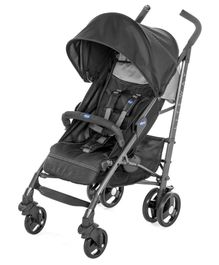 Chicco Lite Way 3 Basic Stroller - Black