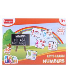 Funskool - 60 Pieces Numbers Puzzles