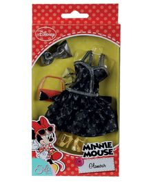 Steffi Love Minnie Mouse Glamour Doll Dress And Accessories