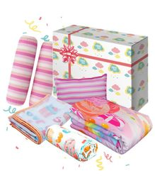 Fancy Fluff Candyland Baby Combo Gift Box Set of 8 - Multicolour