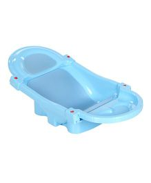 Mee Mee Foldable and Spacious Baby Bath Tub - Blue