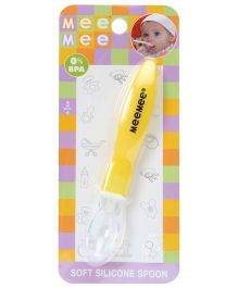 Mee Mee - Soft Silicone Spoon