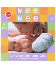 Mee Mee Reusable Nursing Pads - Pack of 6