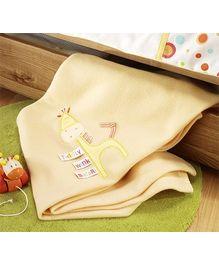 Lollipop Lane Tiddly Wink Safari Fleece Blanket