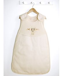 Lollipop Lane Teddy's Cottage Sleeping Bag - Cream