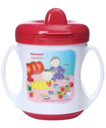 Morisons Baby Dreams - Poochie Feeding Cup Red
